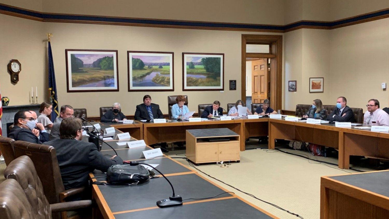 NH House Redistricting Committee meeting